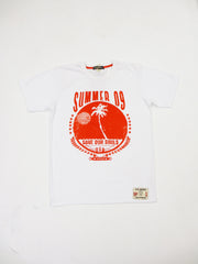 EVIL GENIUS White Summer 09 Tee