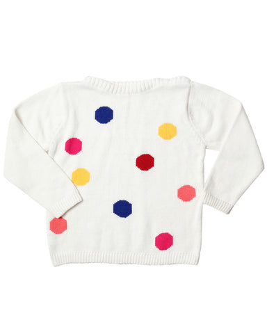 HIDE & SEEK Gone Spotty Girl's Jumper