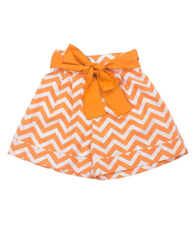 HIDE & SEEK Sunset chevron short