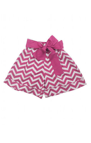 HIDE & SEEK Cherry chevron short
