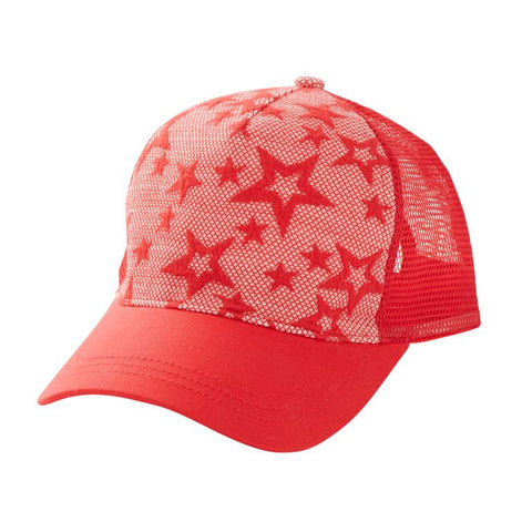 HOOTKID Sure Thing Unisex Cap - Red