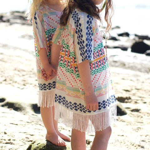 KAFTAN KIDS Japanese Girl's Cape