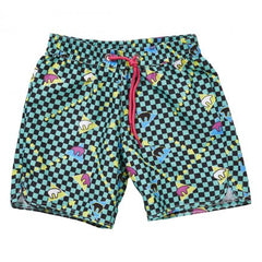 SUDO Golden Bear Boardshort Black / Jade