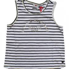 EVE'S SISTER TWEEN GIRL HAVE A NICE DAY TANK - Stripe - Size 8-14