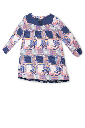 EVE'S SISTER GIRLS PATCHWORK DRESS - Size 3-7