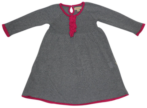 FABRIK Knit Girl's Dress / Grey Marle