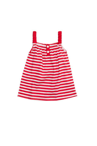 HIDE & SEEK Lou Lou Girl's Top / Red