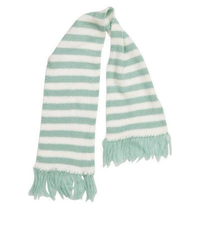 HIDE & SEEK Girls Striped Scarf - Ice - Pink