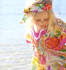 KAFTAN KIDS Girls English Rose Kaftan