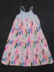 EVE'S SISTER Feather Dress - Girls 3-7