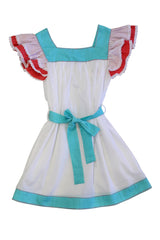 HIDE & SEEK Girls Jasmin Dress - Aqua