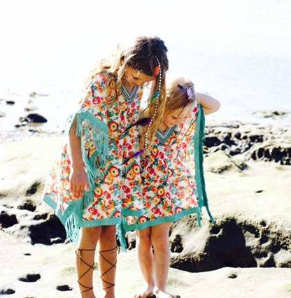 KAFTAN KIDS Sea Mist Girl's Kaftan