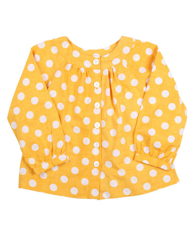 HIDE & SEEK Citrus Lili Spot Top
