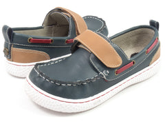 LIVIE & LUCA North Boy's Shoe - Vintage Blue