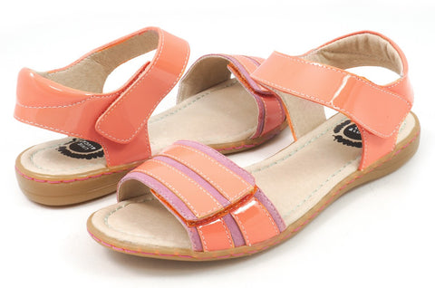 LIVIE & LUCA Taffy Girl's & Youth Sandal - Peach
