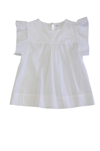 HIDE & SEEK Palm Beach Girl's Top / White
