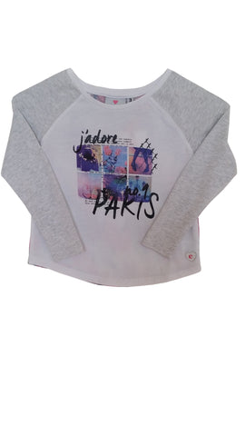 EVE'S SISTER J'adore Girl's Long Sleeve Tee
