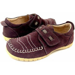 LIVIE & LUCA Boys Paulo Brown Suede Shoe