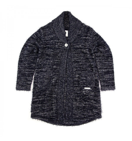 SUDO Far Away Girls Cardigan - Indigo