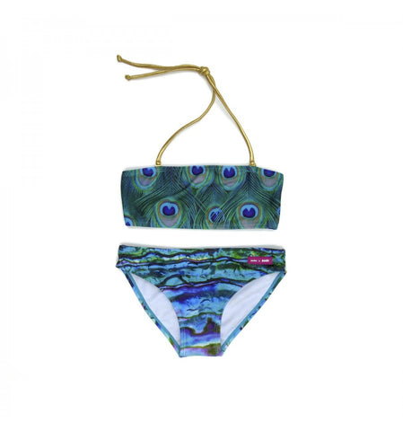 SUDO Peacock Girls 2 Piece Bathers