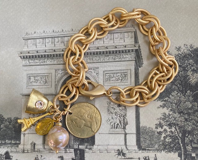 Signature Paris Charm Bracelet