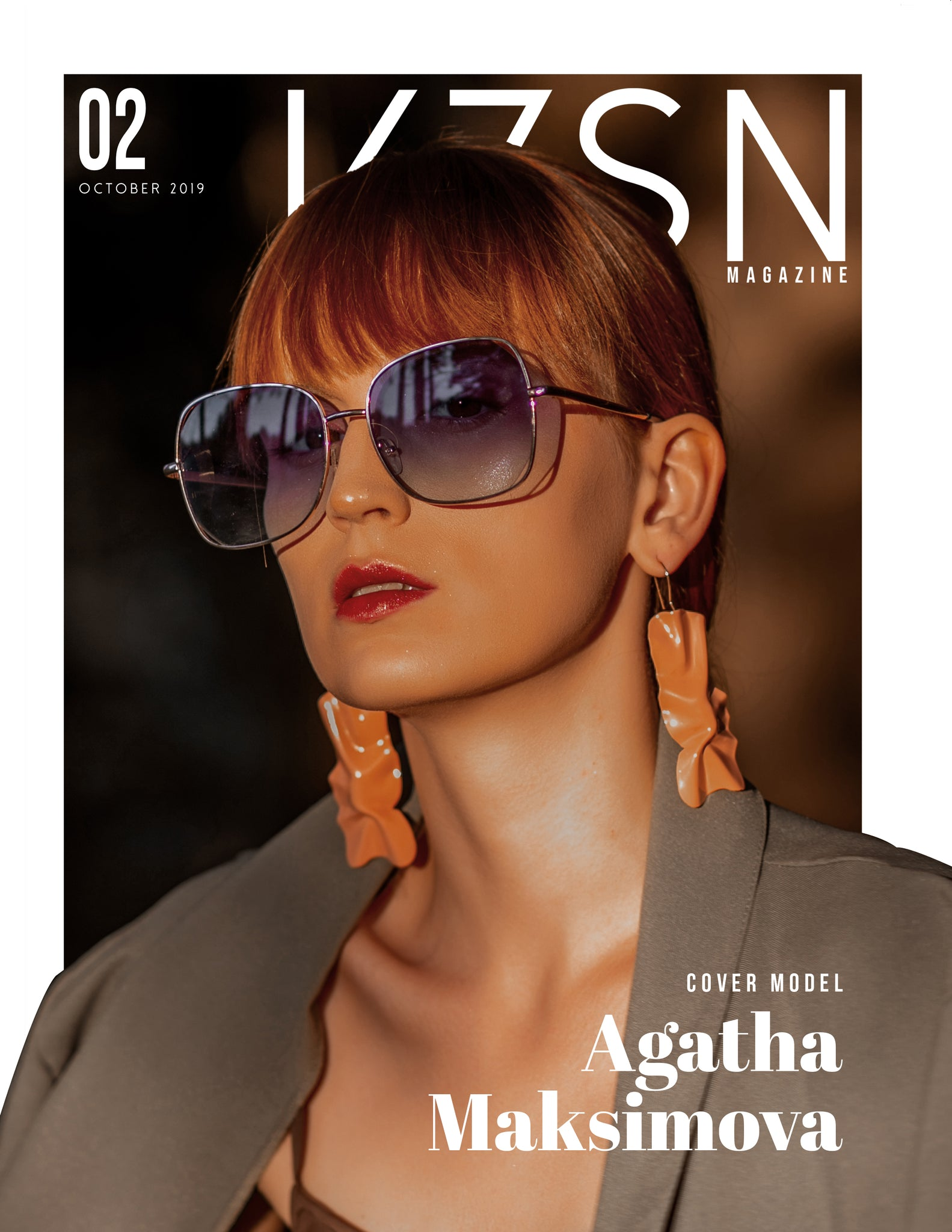 VZSN Magazine | Fashion & Beauty | Vol. 2 Issue 2 (DIGITAL ONLY)