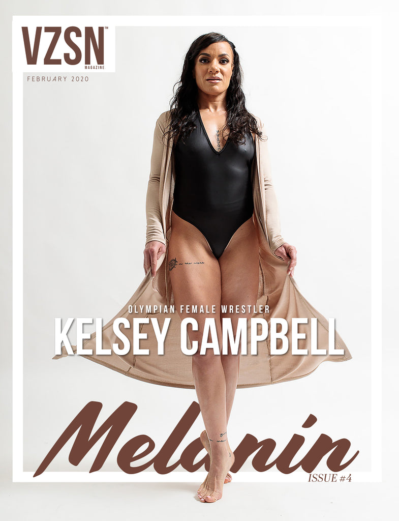 VZSN Magazine | MELANIN | Vol. 3 Issue 4 (DIGITAL ONLY)