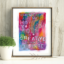 Load image into Gallery viewer, Creativity Rainbow Print