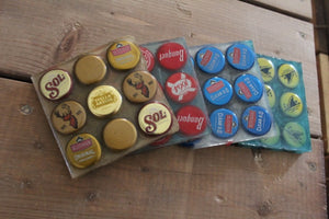 Set of Bottle Cap Coasters