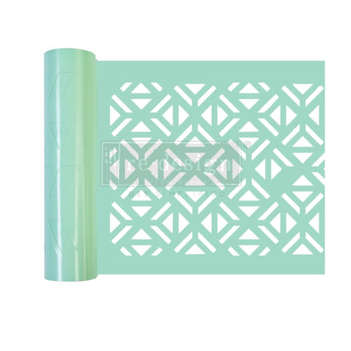 Redesign Stick & Style Stencil Roll - Irregular Triangles