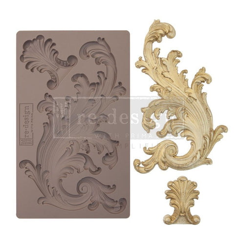 Re Design Decor Mould  Portico Scroll I