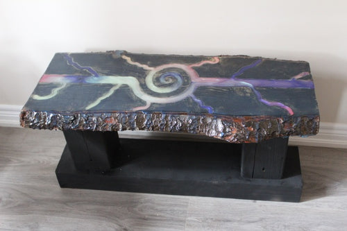 Space Live Edge Table