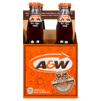 A&W Root Beer (4 x 341ml)