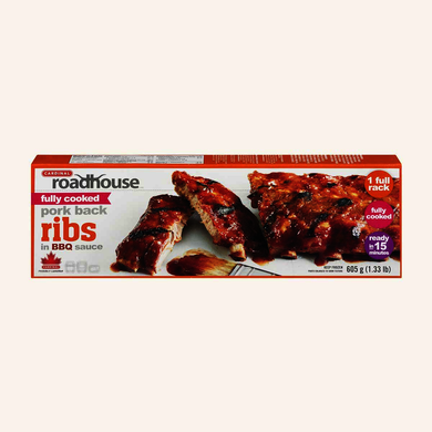 Cardinal Fully Cooked Back Ribs in BBQ Sauce (605g)