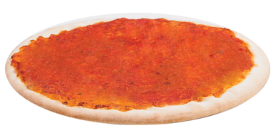 Pizza Crust with Tomato Sauce (12inch)