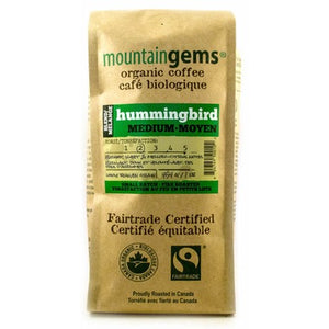 Mountain Gem's Organic Coffee Hummingbird WB Medium Roast (454g)