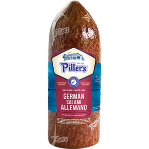 Pillers German Dry Salami (Thin Deli Sliced)