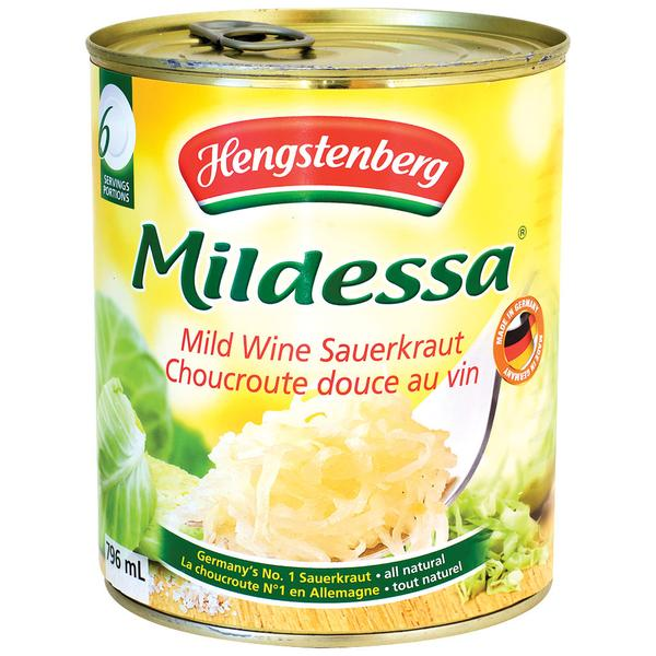 Hengstenberg Sauerkraut Mildessa (796ml)