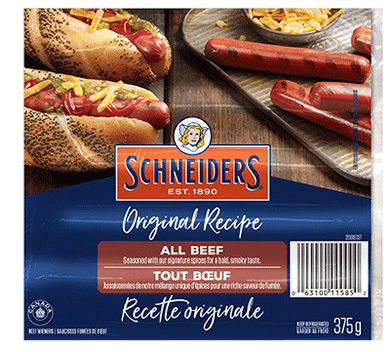 JMS All Beef Wieners (375g)