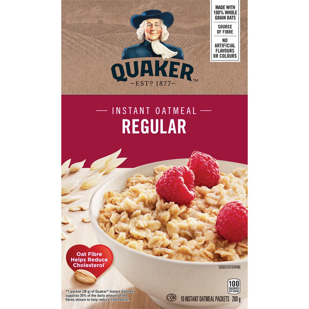 Quaker Regular Oatmeal (280g)