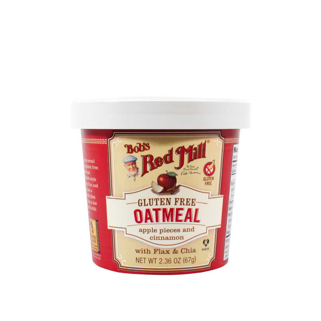 Bob's Red Mill Oatmeal - Apple Cinnamon - Gluten Free (67g)
