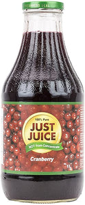 Just Juice 100% Pure Cranberry (1L)