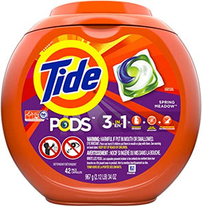 Tide Pods HE Spring Meadow (42 pods/967g)