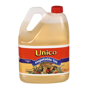 Unico Vegetable Oil (3ltr)