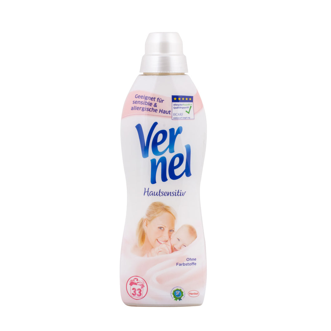 Vernel Fabric Softener Sensitive Skin (1ltr)