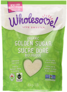 Wholesome Sweet Sugar Golden - Organic - Kosher (454g)