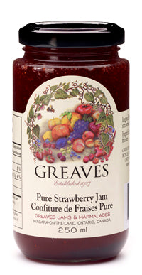 Greaves Jam Strawberry (250ml)