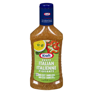 Kraft Dressing - Zesty Italian (475ml)