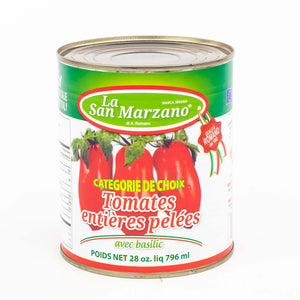 La San Marzano Tomatoes Peeled with basil (796ml)