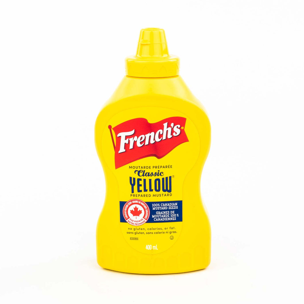 French's Mustard Yellow Squeeze (400ml)